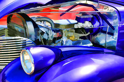 Combustion Painting - Engine Compartment 11 by Lanjee Chee