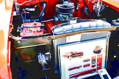 Engine Compartment 9 Art Print