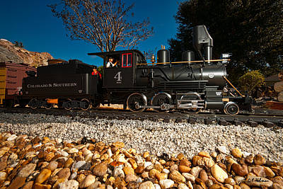 Photograph - Engine No. 4 by Christopher Holmes