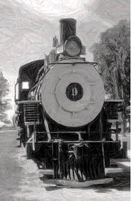 Photograph - Engine Number 9 by Gary Brandes