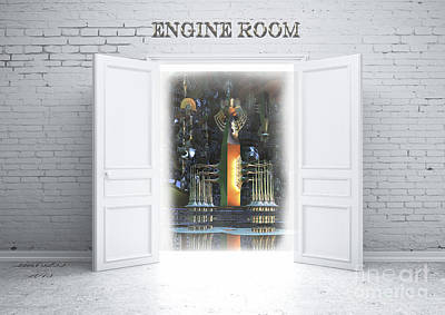 Engine Room Art Print