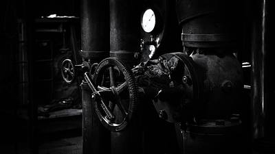 Photograph - Engine Room by Tim Nichols
