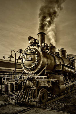 Photograph - Engine Steam by Sharon Popek