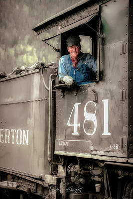 Photograph - Engineer 481 by Steve Kelley