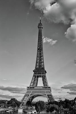 Paris Skyline Royalty-Free and Rights-Managed Images - Engineering Art by Youshij Yousefzadeh