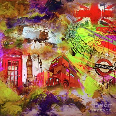 England Art  Original by Gull G