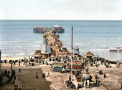 Photograph - England: Blackpool, C1900 by Granger