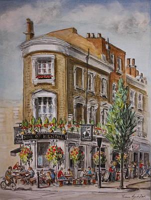 England London The Duke Of Kendal Art Print by Yvonne Ayoub