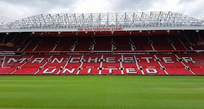 England - Sir Alex Fergusson Stand Manchester United Art Print