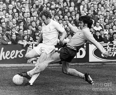 Tottenham Photograph - England: Soccer Match, 1972 by Granger