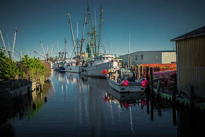 Photograph - Englehardt,nc Fishing Town by Donald Brown