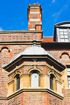 Upscale Photograph - English Architecture by Tom Gowanlock