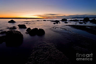 Photograph - English Bay Sunset by Terry Elniski