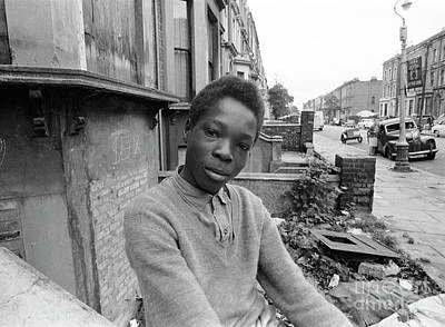Ghetto Photograph - English Boy by The Harrington Collection