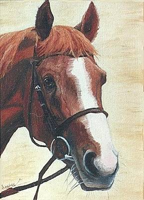Painting - English Chestnut by Ann Becker