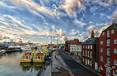 Photograph - English Coastal Town Scenic by Anthony Dezenzio