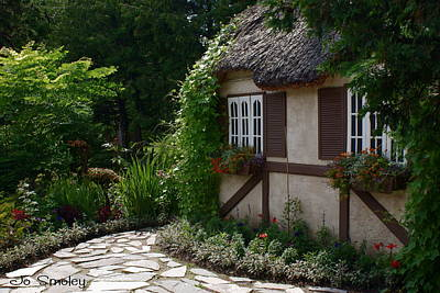 Photograph - English Cottage by Joanne Smoley