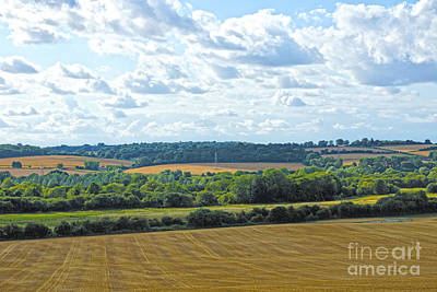 Digital Art - English Countryside by Andrew Middleton