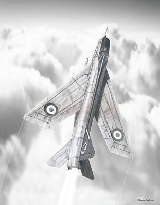 English Electric Lightning F.1a Original by Douglas Castleman
