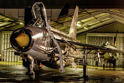 Photograph - English Electric Lightning Qra Shed by Ken Brannen