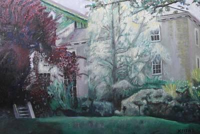 English Estate Art Print by Keith Bagg