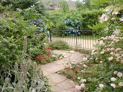 Photograph - English Garden by Ann Yamagishi