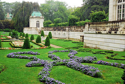Photograph - English Garden by James Kirkikis