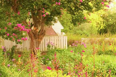 Animal Watercolors Juan Bosco - English Garden by Leigh Ann Hartsfield