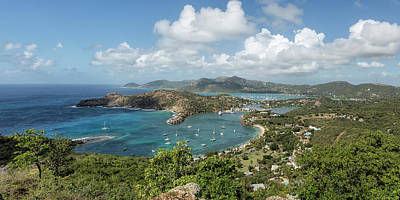 Photograph - English Harbor As Seen From Shirley Heights - Antigua by Belinda Greb