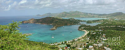 Shirley Photograph - English Harbour Antigua by John Edwards