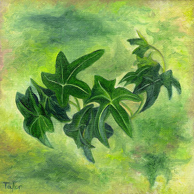 Painting - English Ivy by FT McKinstry