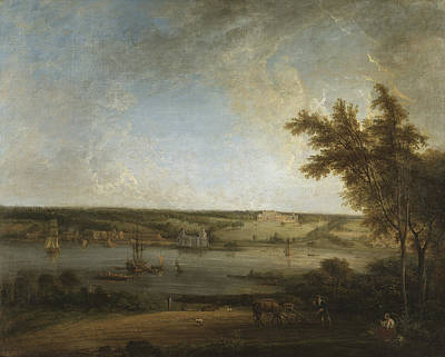 Painting - English Landscape From Mistley Hall, Essex by Elias Martin