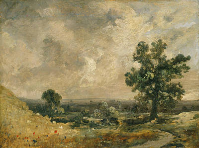 Painting - English Landscape by John Constable