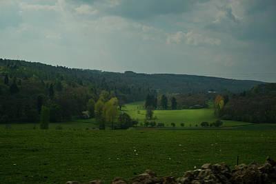 City Scenes - English Meadow 1 by Douglas Barnett