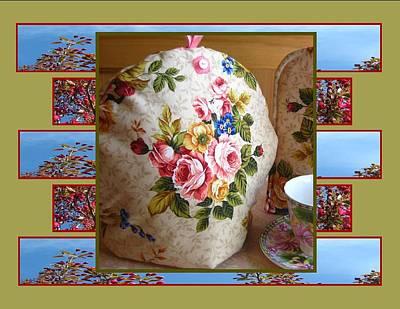 Tea Photograph - English Rose Tea Cozy by Gretchen Wrede