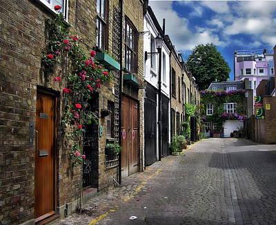 Photograph - English Street Scene by Anthony Dezenzio