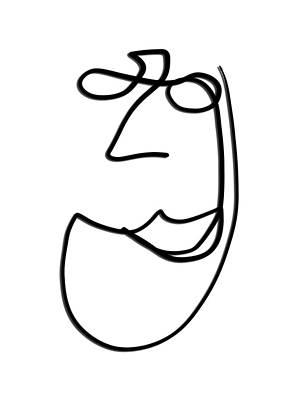 Drawing - English Teacher by Bill Owen