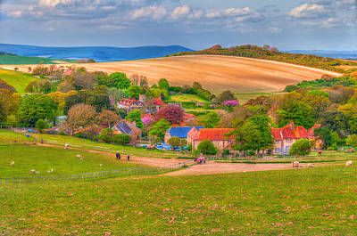Best Stock Photograph - English Village In Spring Time by Susan Dost