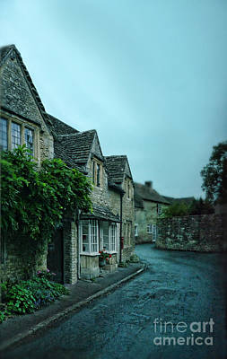 Photograph - English Village Street by Jill Battaglia