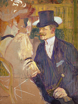 Englishman Art Print by Henri de Toulouse-Lautrec