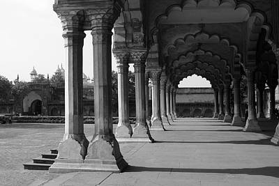 Photograph - Engrailed Arches At The Red Fort by Aidan Moran