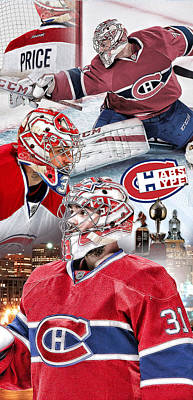 Canadiens Digital Art - Price Phone Cover by Nicholas Legault