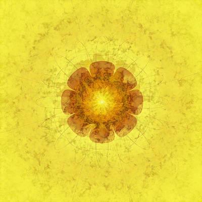 Enguard Actuality Flower  Id 16164-044544-25560 Art Print