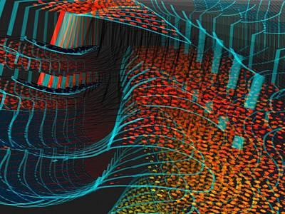 Digital Art - Enhance by Cooky Goldblatt