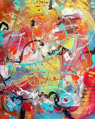 Painting - Enigma by Sandra Lett