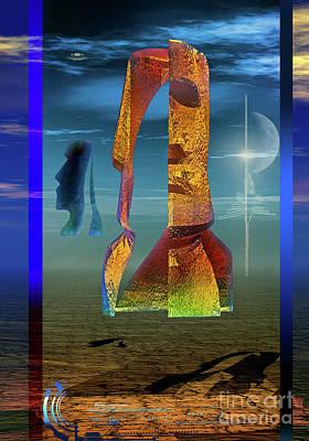 Digital Art - Enigma by Shadowlea Is