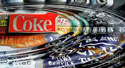 Photograph - Enjoy Coca-cola by Bob Christopher