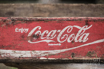 Photograph - Enjoy Coca Cola by Teresa Wilson
