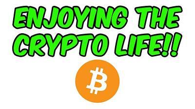 Digital Art - Enjoy The Crypto Life #2 by Britten Adams