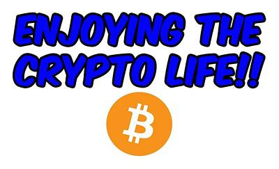 Enjoy The Crypto Life #4 Art Print